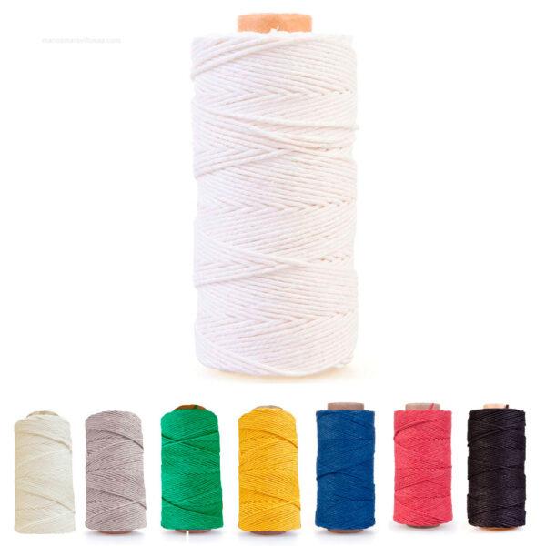 hilo algodón encerado