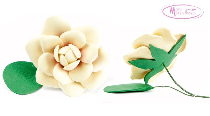 Foamiran flowers, paso a paso para hacer una Flor