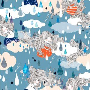 Tela impermeable Lady Desiria women´s rain