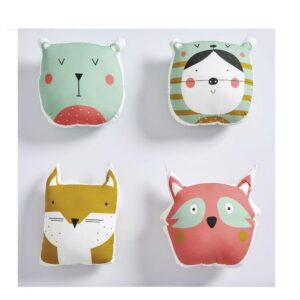 Night animal panel Katia para hacer cojines
