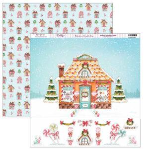 papel scrap viva la navidad dayka