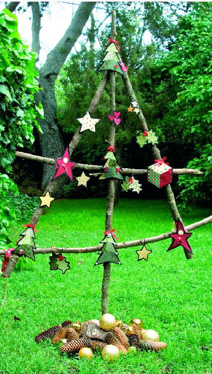 Adornos DIY para el árbol de navidad