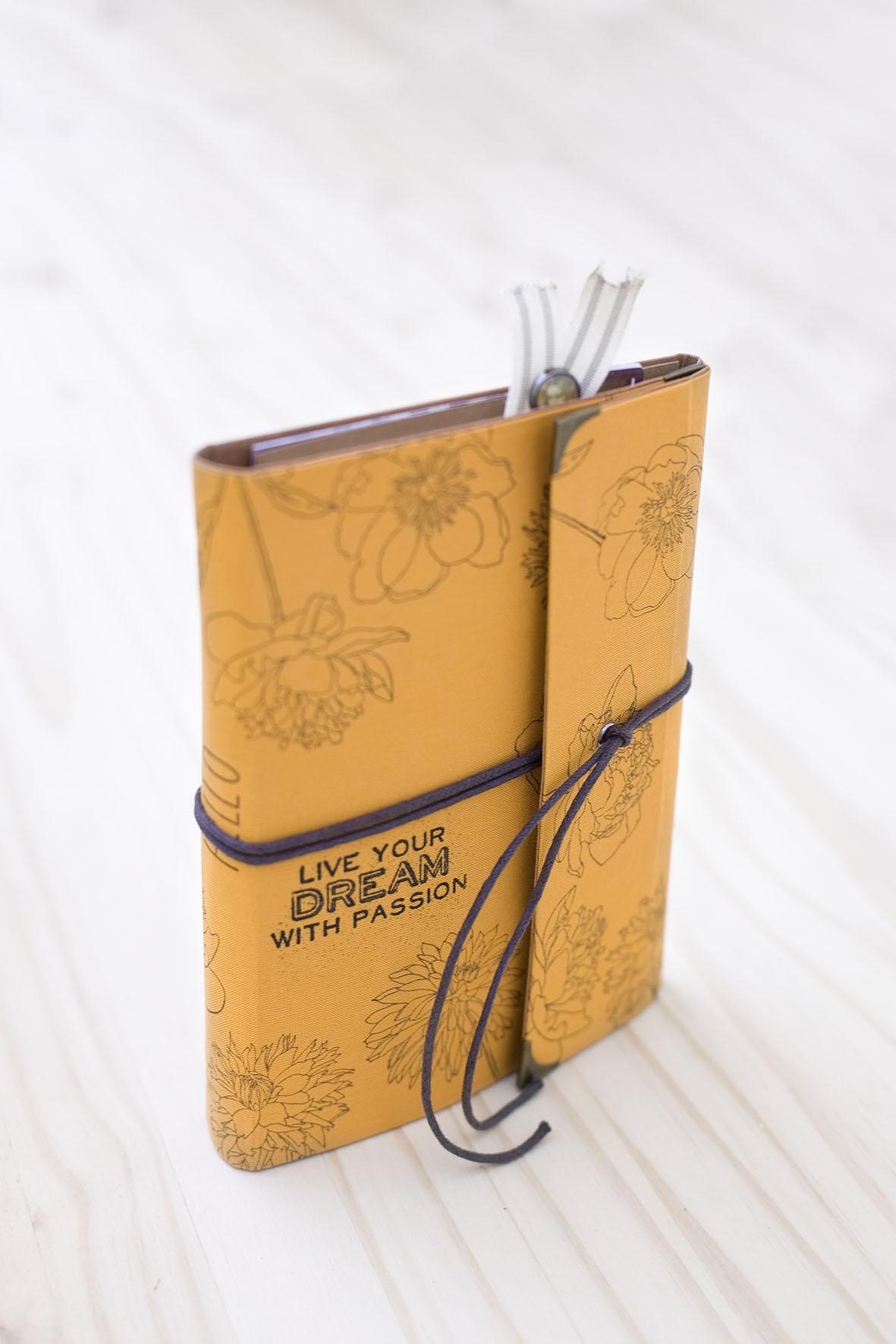 Cuaderno de viaje muy fácil de hacer