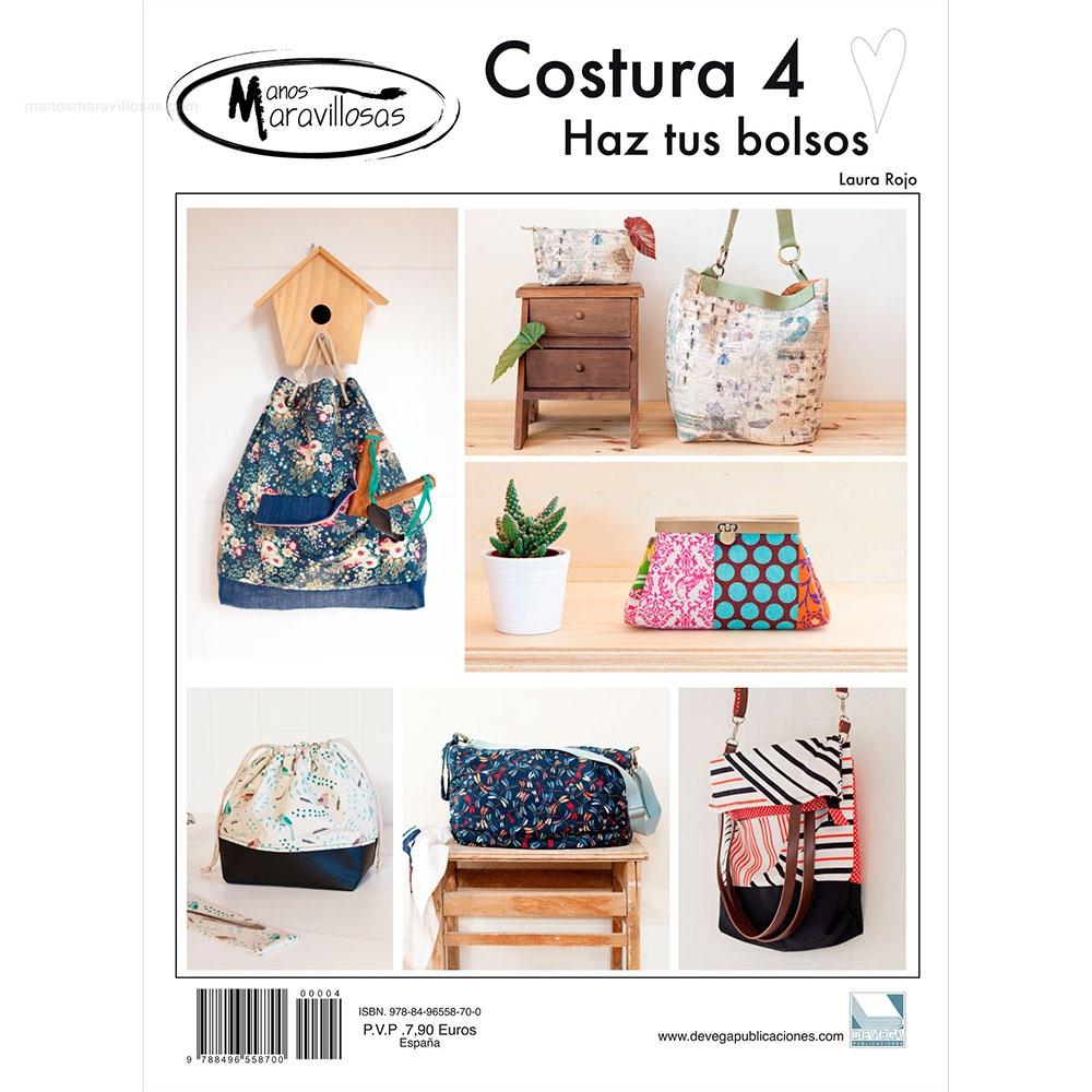 Revista con proyectos técnicas y patrones para hacer bolsos