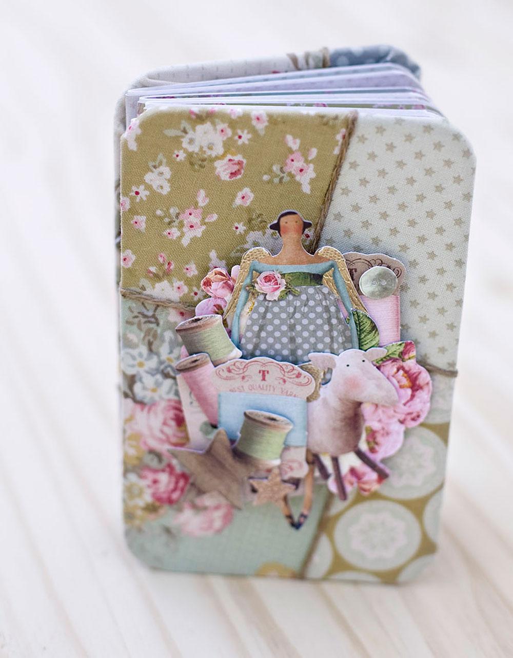 Diario o cuaderno de notas handmade