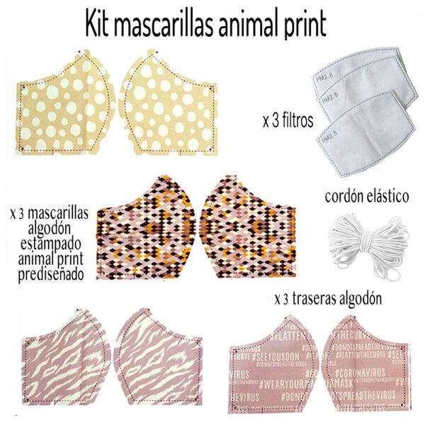 Kit mascarillas