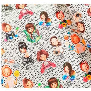 tela algodón mujeres pioneras