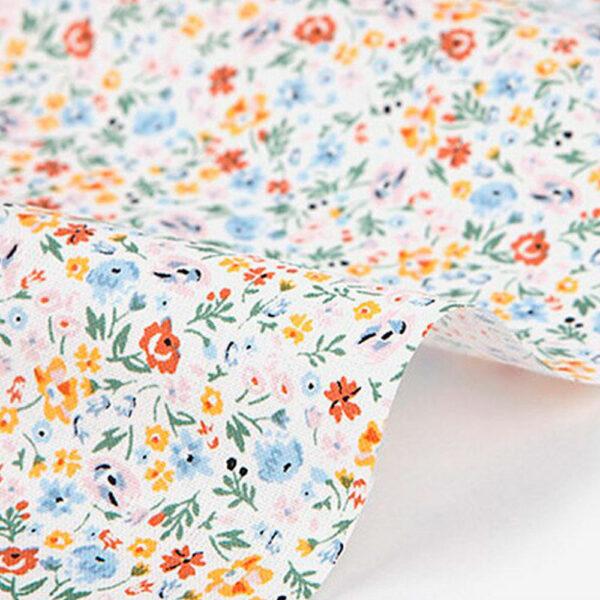 tela estampada de algodón