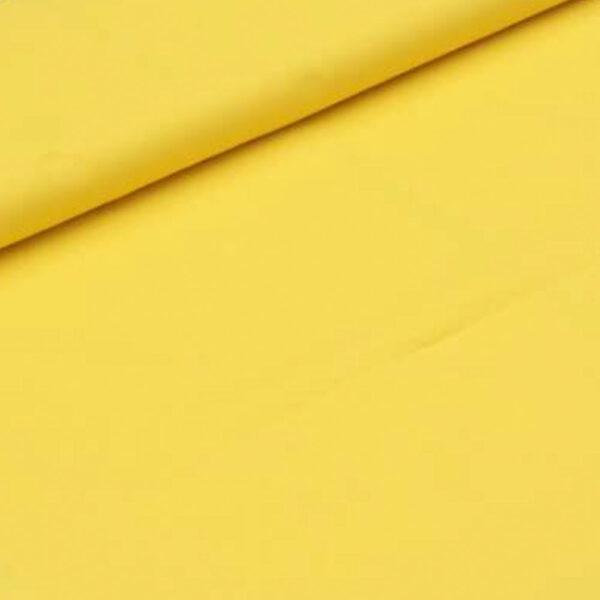tela algodón amarilla