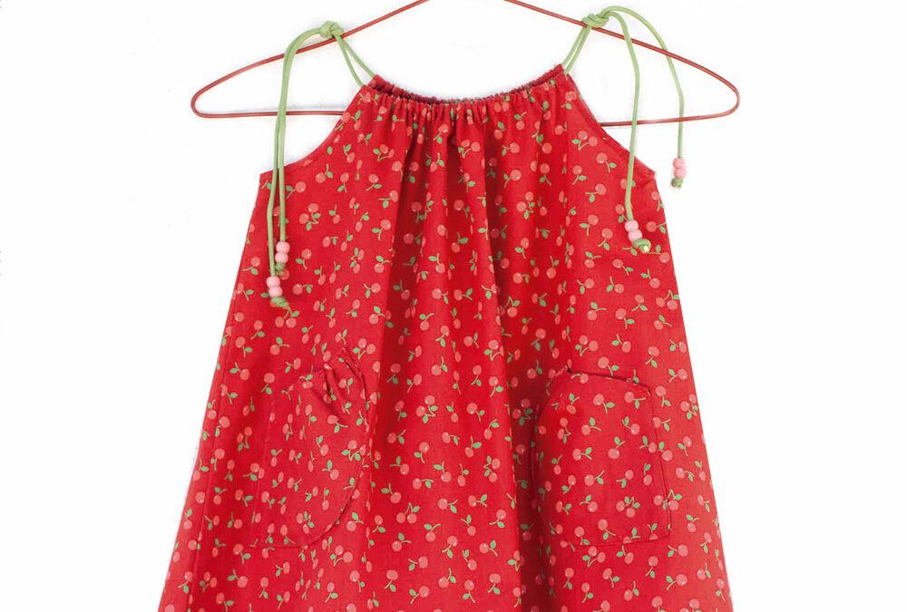Vestido para niña muy facil de coser
